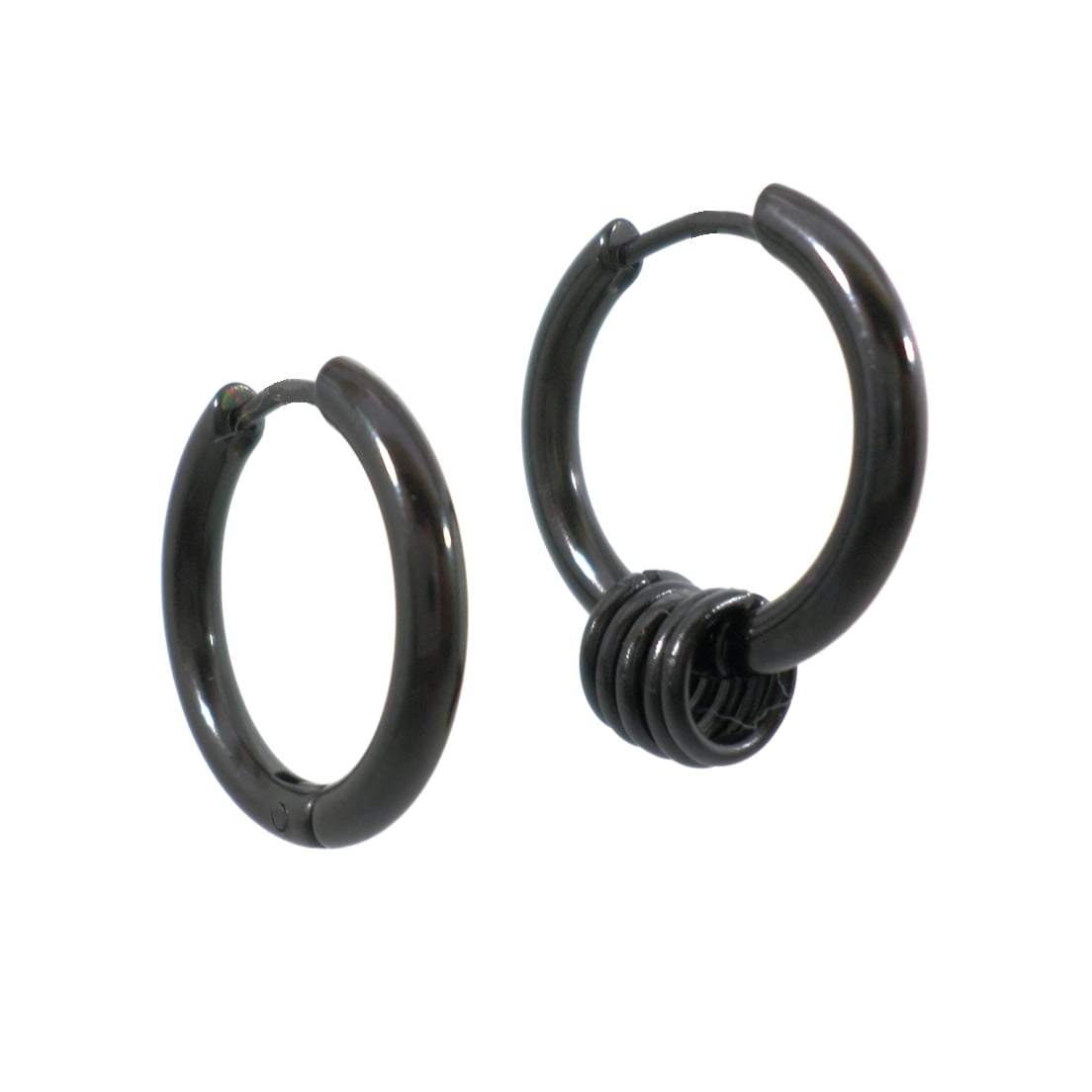 BRINCO MIX ARGOLAS PRETO 2 mm